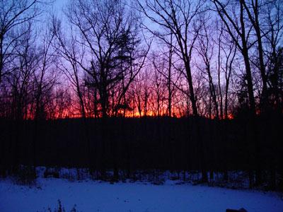Sutton Massachusetts Snow Photo