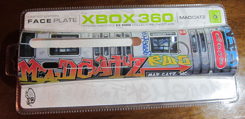 MadCatz Limited Edition E3 2006 Graffiti Faceplate
