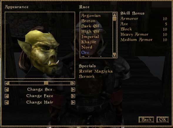 character morrowind guide