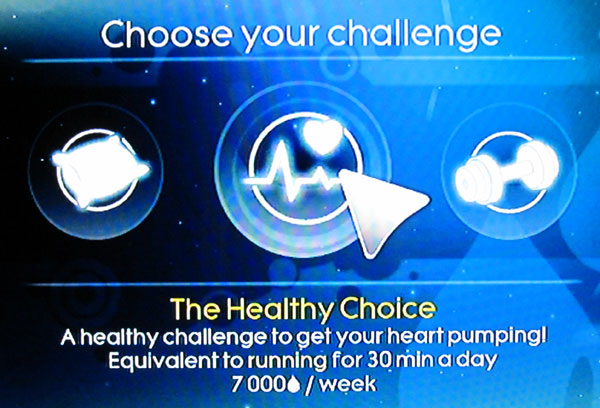 Just Dance 3 Fitness Challenge