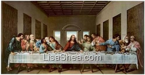 The Last Supper Depicts Very Moment That Has Said To His Disciples