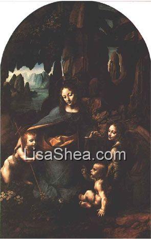 Madonna Of The Rocks Virgin Of The Rocks Leonardo Da
