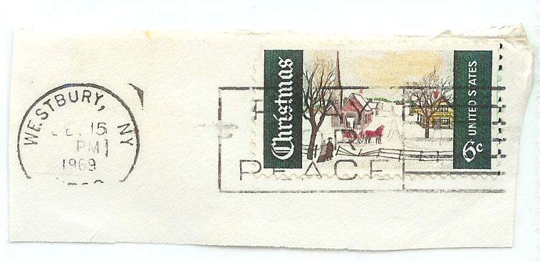 1969 Christmas Stamp