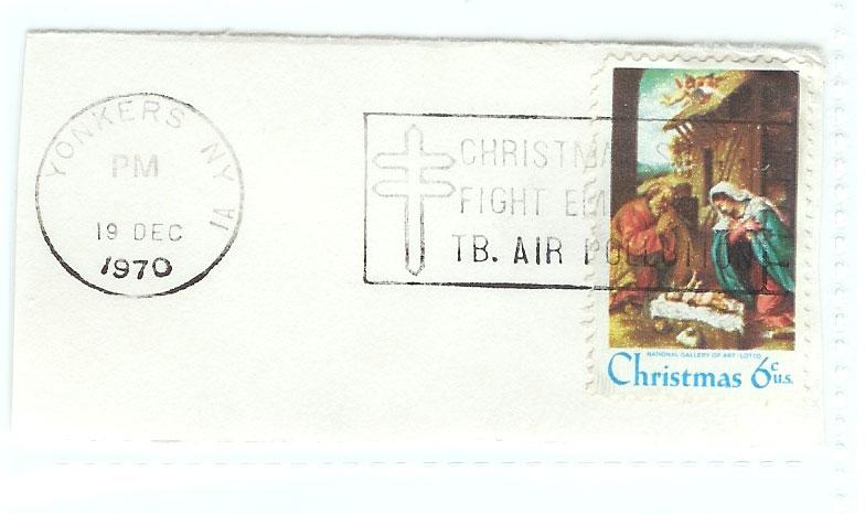 1970 Christmas Stamp