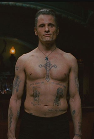tattoo culture of the mob and his research was then used in the movie.