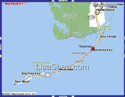 Map Of Florida Keys Hotels Submited Images
