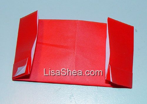 business card origami instructions