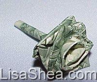 origami Money rose flower 10 real $1 dollar bills Graduation ...   170x200
