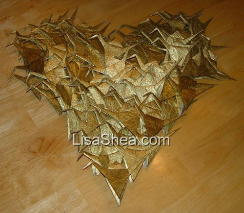 Wedding tradition of 1 000 origami cranes for 1000 paper cranes wedding decoration