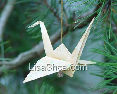 Holiday Origami Christmas Origami Ornament Origami