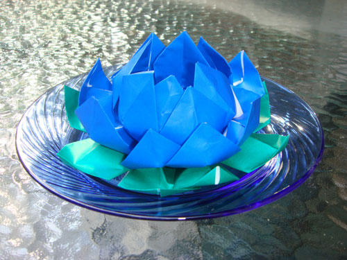Origami lotus flower handmade origami sales mightylinksfo Image collections