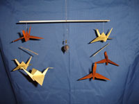 How To Make a Colorful Origami Crane Mobile  DIY Home Tutorial  Guidecentral