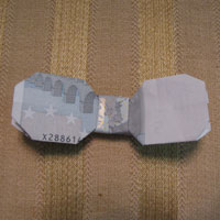 Money Origami Bowtie