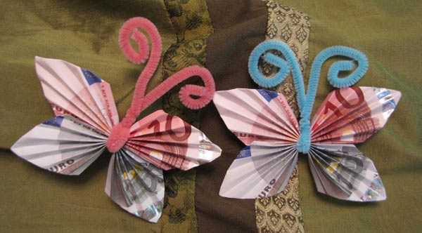 Money Origami butterfly | Paper Origami Guide | 332x600