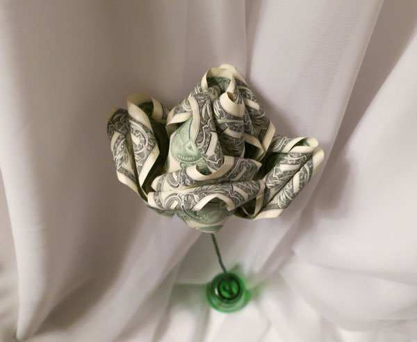 Beautiful Money Origami Roses Money Gifts Flowers Made of Real ...   492x600