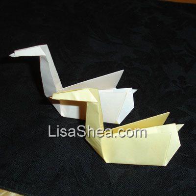 Origami Swan Handmade Origami Designs