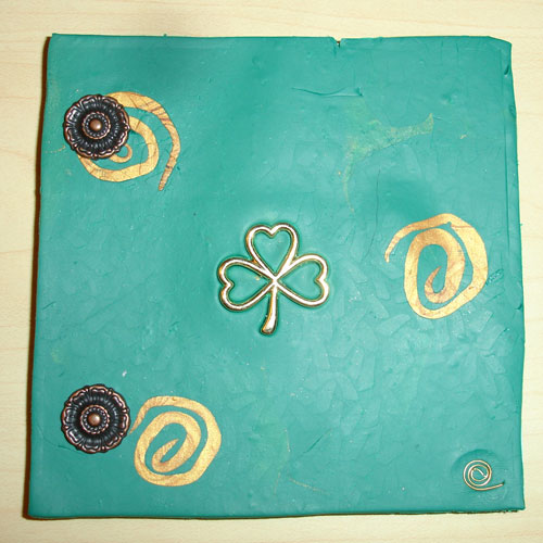 Shamrock Polymer Clay Journal