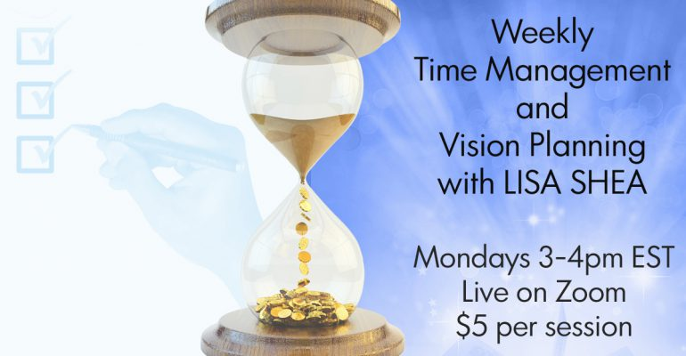 Vision Statements, Goal Planning, Time Management Weekly Workshop