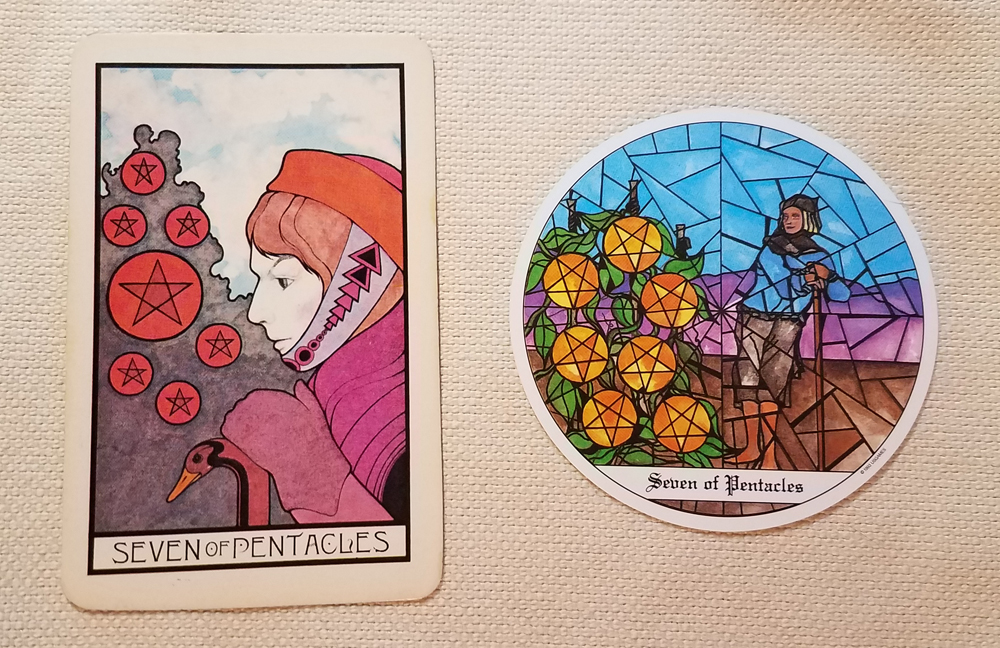 Seven of Pentacles Lisa Shea
