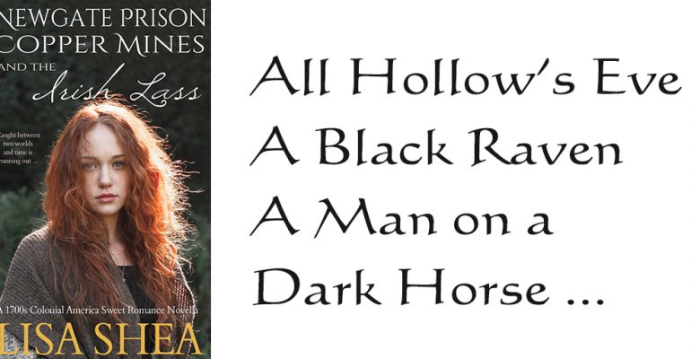 All Hollow's Eve. A Black Raven. A Man on a Dark Horse ...