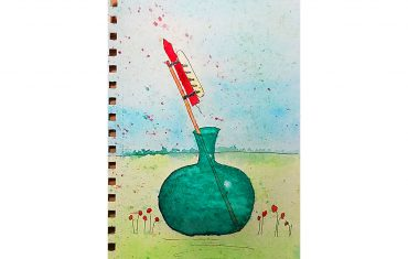 Lisa Shea Bottle Rocket Watercolor
