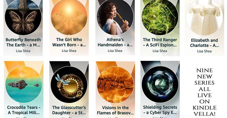 Lisa Shea Amazon Kindle Vella
