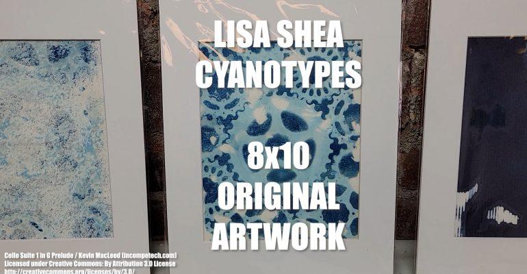 Lisa Shea Cyanotypes