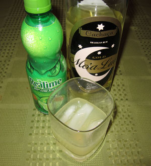 Caipirinha cocktail chacaca