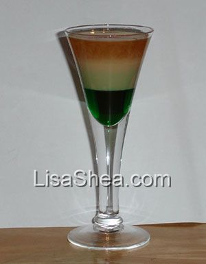 Baileys Irish Flag Recipe