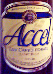 Accel Low Carb Light Beer