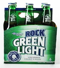 Rolling Rock Green Light Beer
