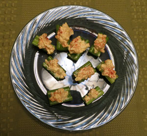 Celery Egg Salad Appetizers