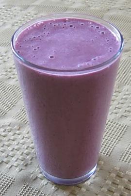 Almond Berry Shake Smoothie Recipe