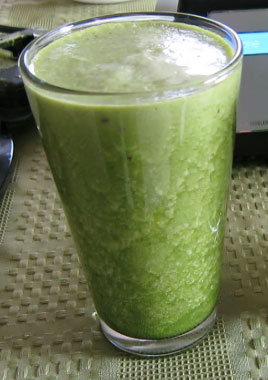 Basic Spinach Veggie Juice Recipe
