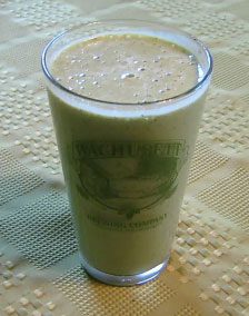 Cantaloupe Peach Shake Juice Recipe