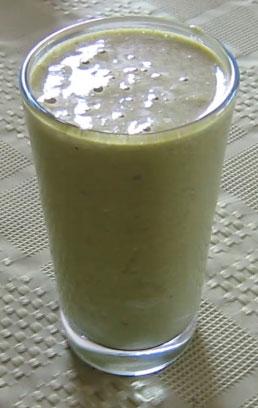 Mushroom Kale Shake Juicing Recipe