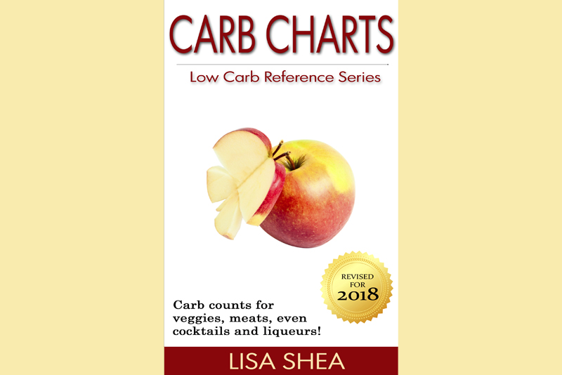 Carb Charts - Low Carb Reference Book