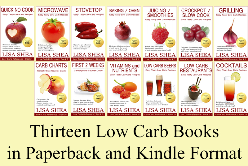 Low Carb Books / Ebooks