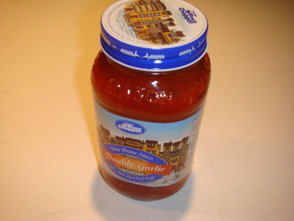 Price Chopper spaghetti sauce jar