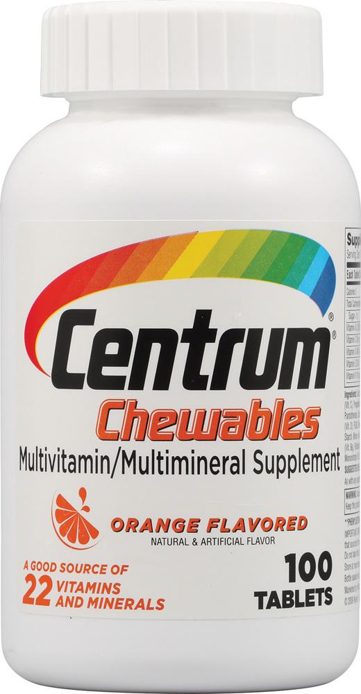 Centrum Multivitamin Chewables
