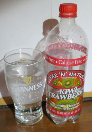 Clear 'N' Natural Kiwi Strawberry Sparkling Water