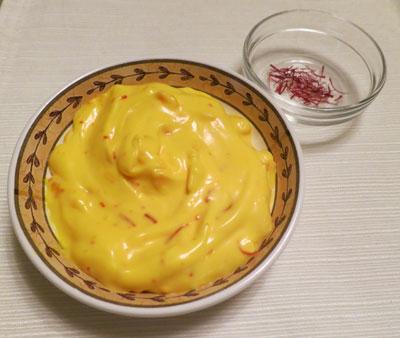 Saffron Aioli Sauce Recipe