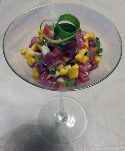 Tuna Tartare Appetizer Recipe