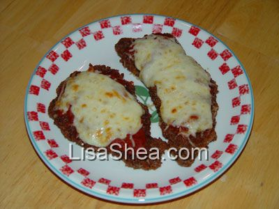Italian Veal Parmigiano Cutlet Recipe