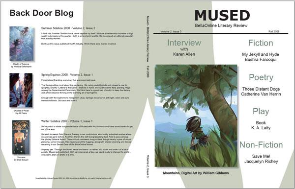 Lulu Print Version - Description and Photos - Online Literary Magazine