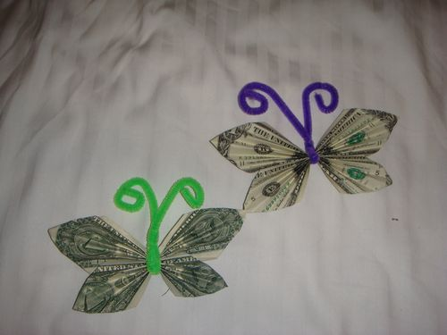 Origami Money Tree Butterfly