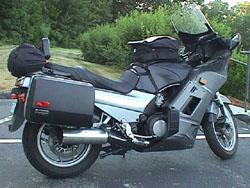 Kawasaki Concours Hard Bags