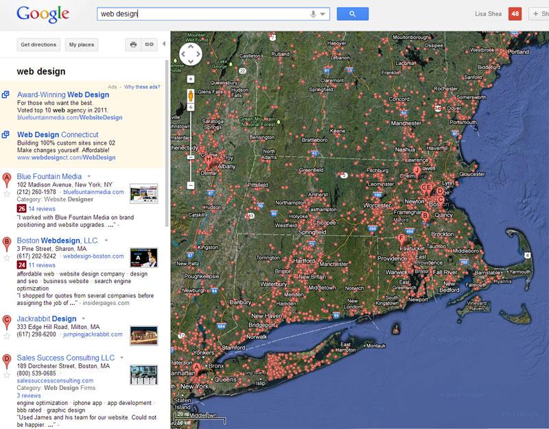 Google+ and Google Maps
